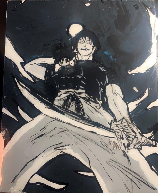 Kaula K - Fan Art inspired by Jujutsu Kaisen by Gene Akutami
