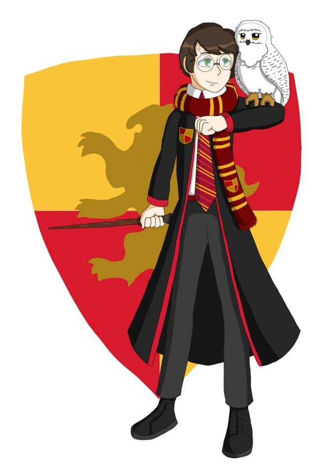 Sevilla S - Fan Art inspired by Harry Potter