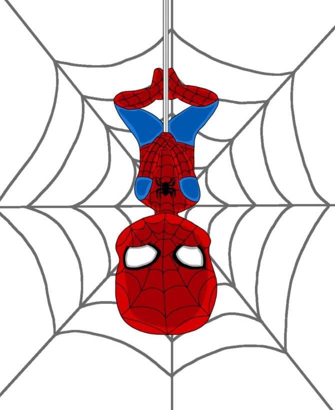Sevilla S - Fan Art inspired by Spiderman