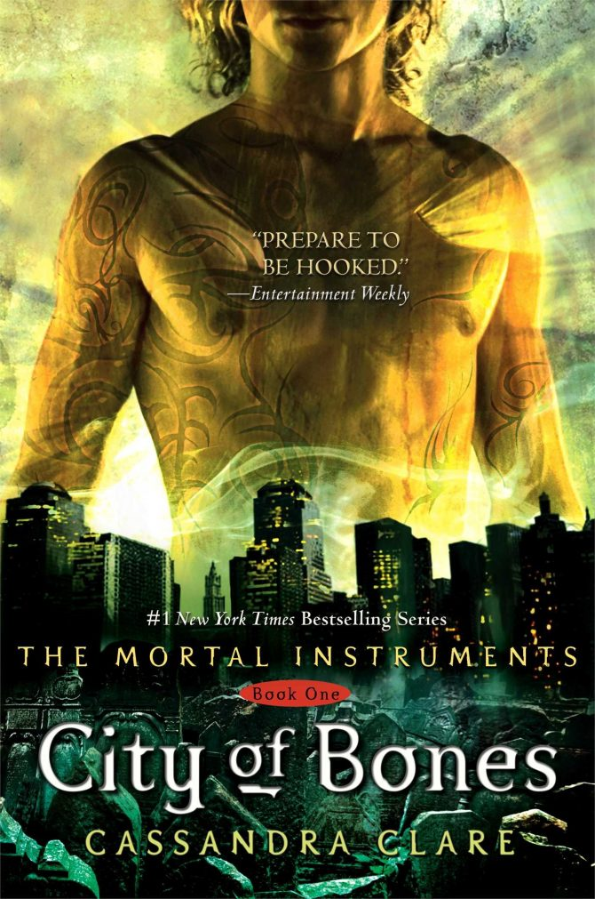 If you like The Mortal Instruments series by Cassandra Clare