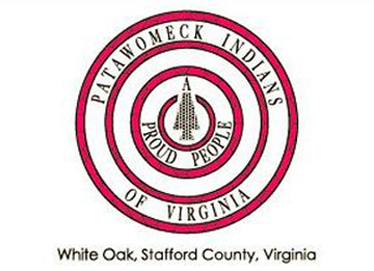 The emblem for the Patawomeck Indians of Virginia