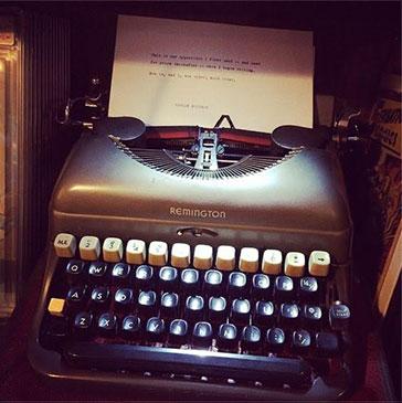 Harlan Ellison's typewriter