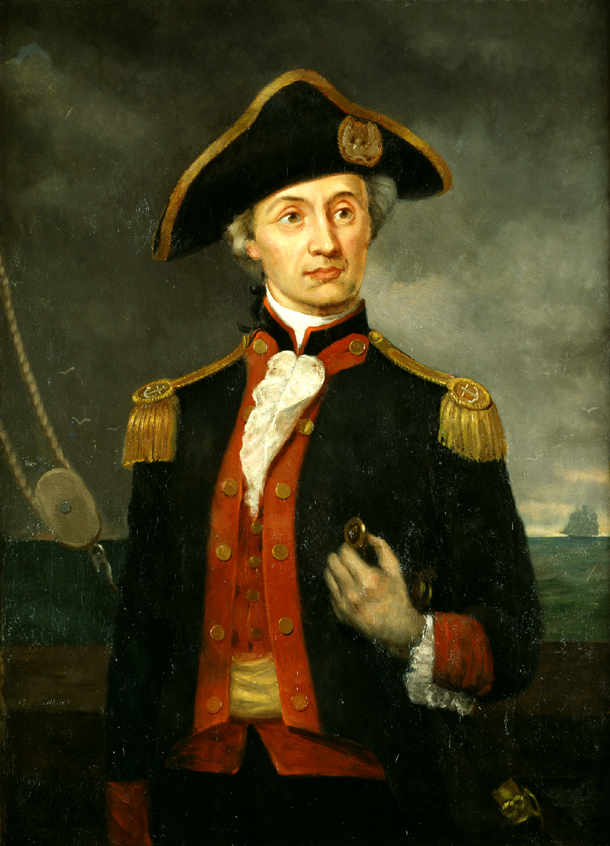 John Paul Jones A Founder Of The U S Navy Central
