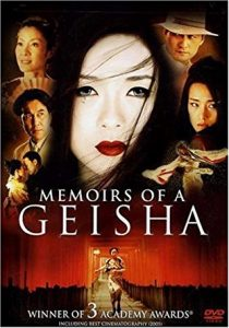 Something memoirs of geisha by arthur golden