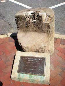 Slave Auction Block, Fredericksburg