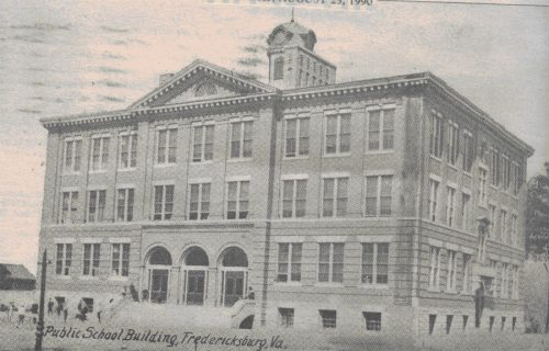 Old Postcard of the FXBG Branch