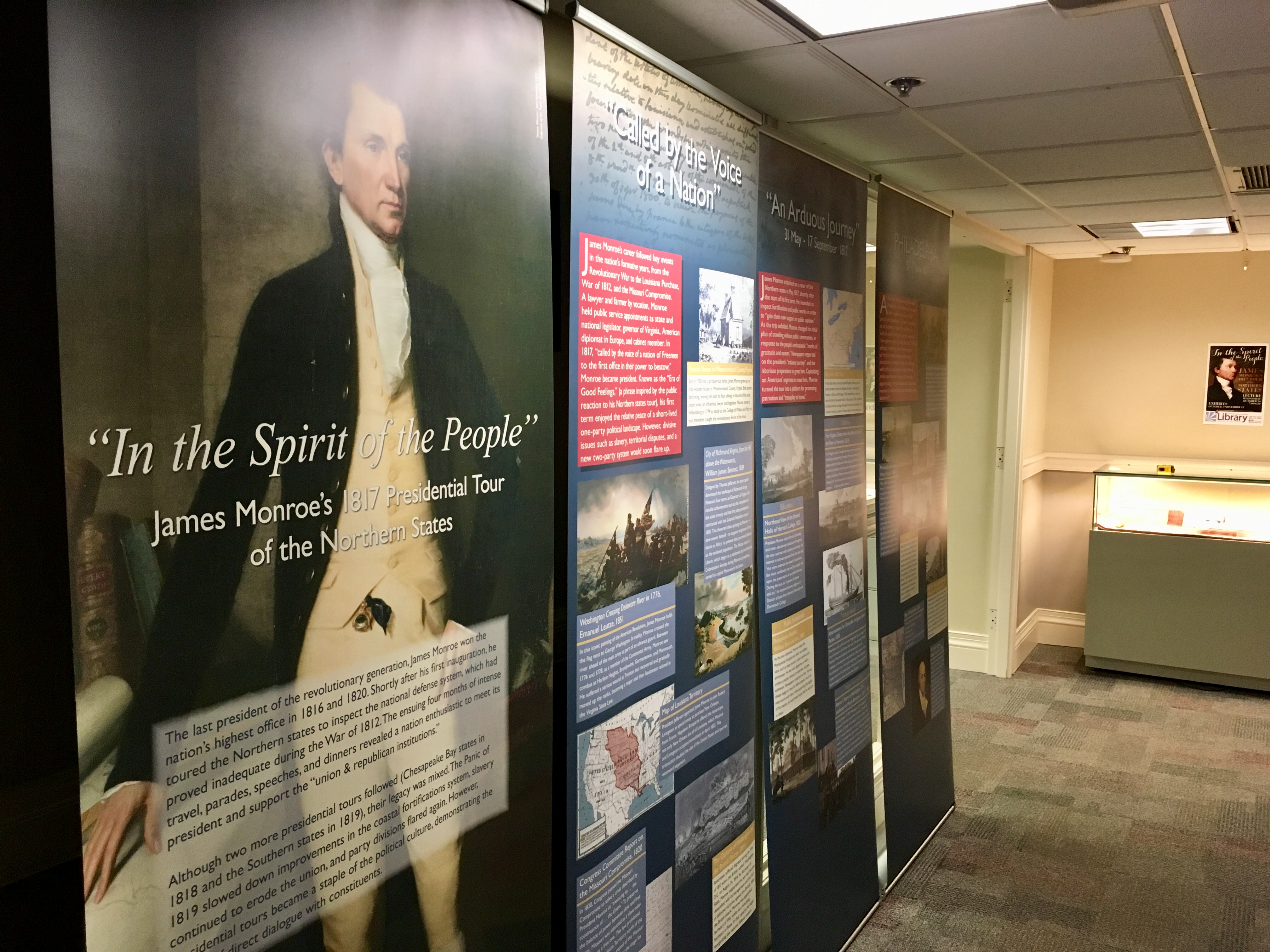 James Monroe exhibit and lecture this month at downtown