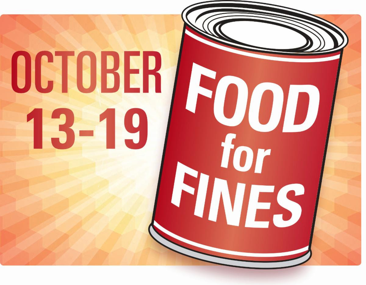 Food for Fines: October 13-19