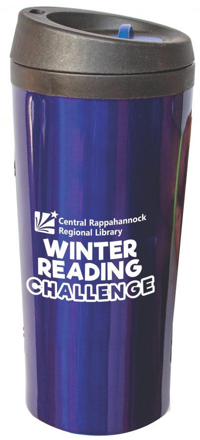Adult Winter Reading Challenge Travel Mug