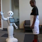 Pepper the Robot at FX