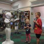 Pepper the Robot at FX