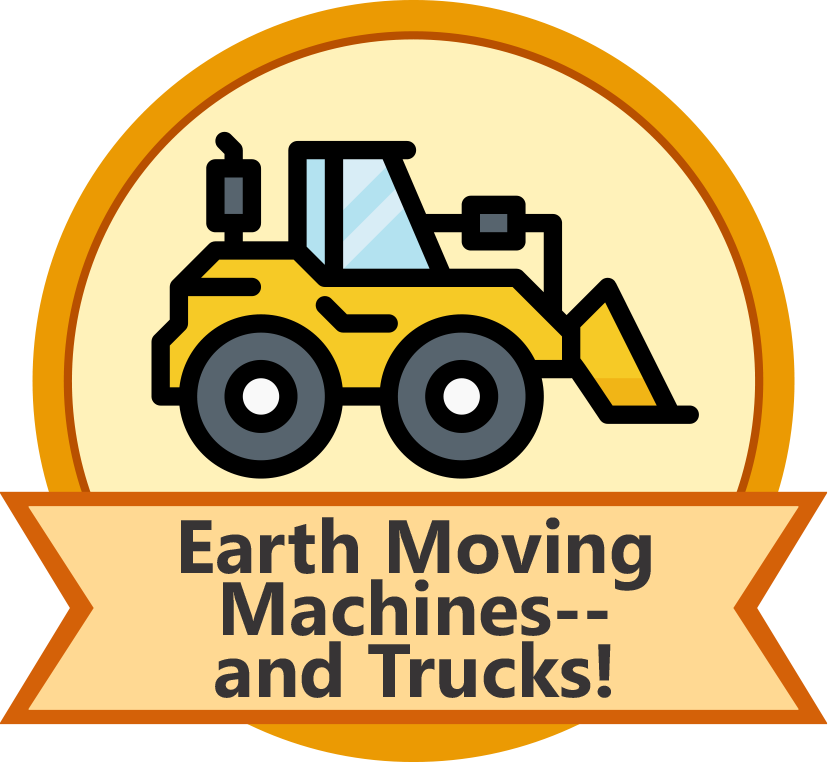 Earth Moving Machines--And Trucks! Mission (Children)