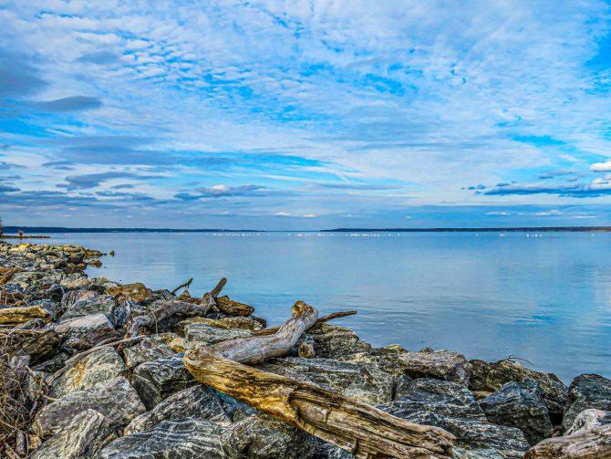 Widewater State Park rocks