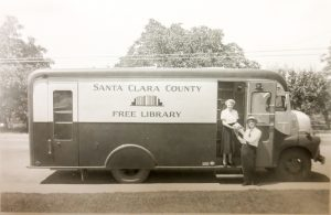 Bookmobile historic image