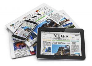 Newspapers newsroom online news