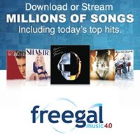 Freegal streaming music