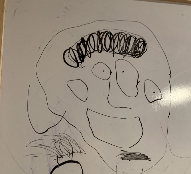 Drawing by Arvin