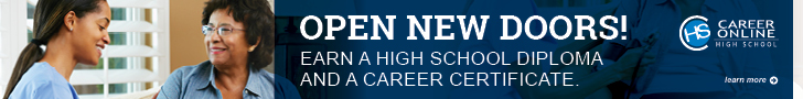 Open New Doors. Earn a high school diploma and a career certificate. Career Online High School