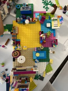 LEGO Friends Indoor House Designing