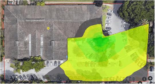 Los Altos Wi-Fi Coverage Area
