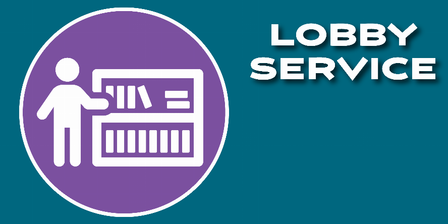 Lobby Services, Lobby Holds, and Curbside Holds Available