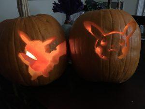 Pikachu Pumpkins