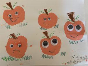 Pumpkin Family in a Pumpkin Patch