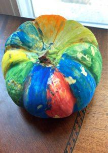 Tiny Colorful Pumpkin