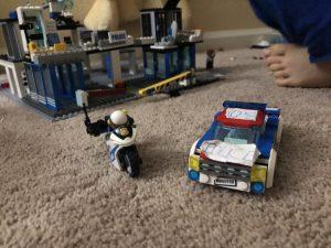 Police Car and Bike