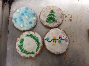 Holly-day Cookies