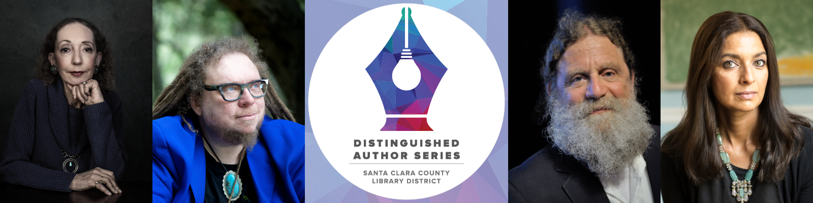 Distinguished Author Series banner