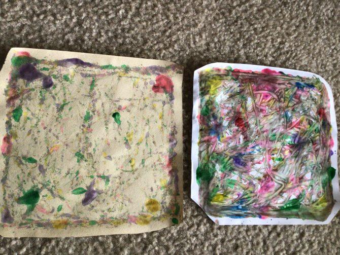 Pollock Art Painting