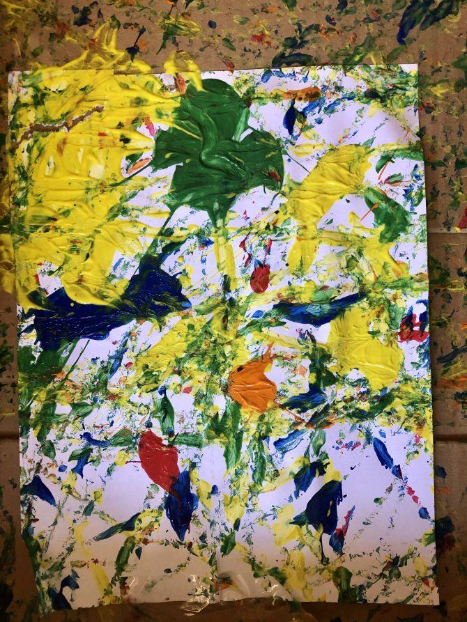 Pollock Paining