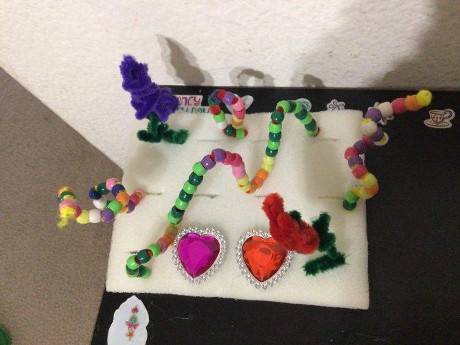 Pony Beads Sculpture