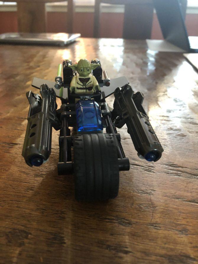 Yoda's New Ride