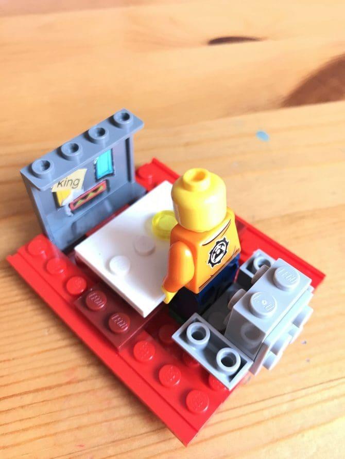 Boat - Enjoying Food and Watching TV