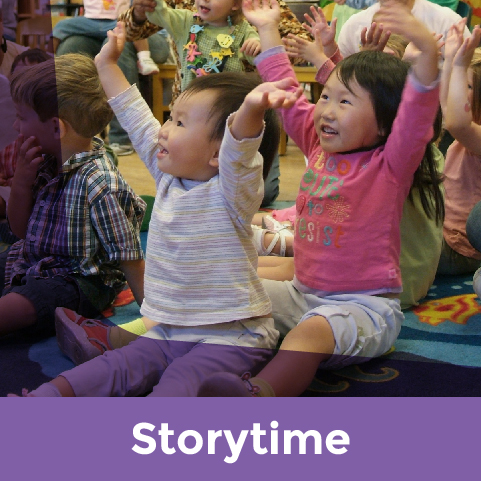 Links to Storytime events calendar