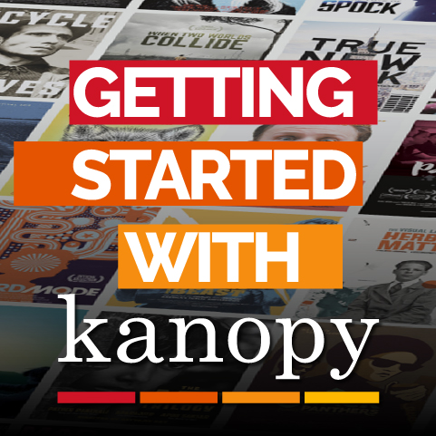 Getting started with Kanopy streaming videos