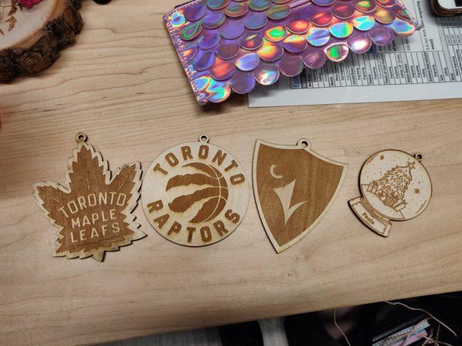 Craft from laser engraver