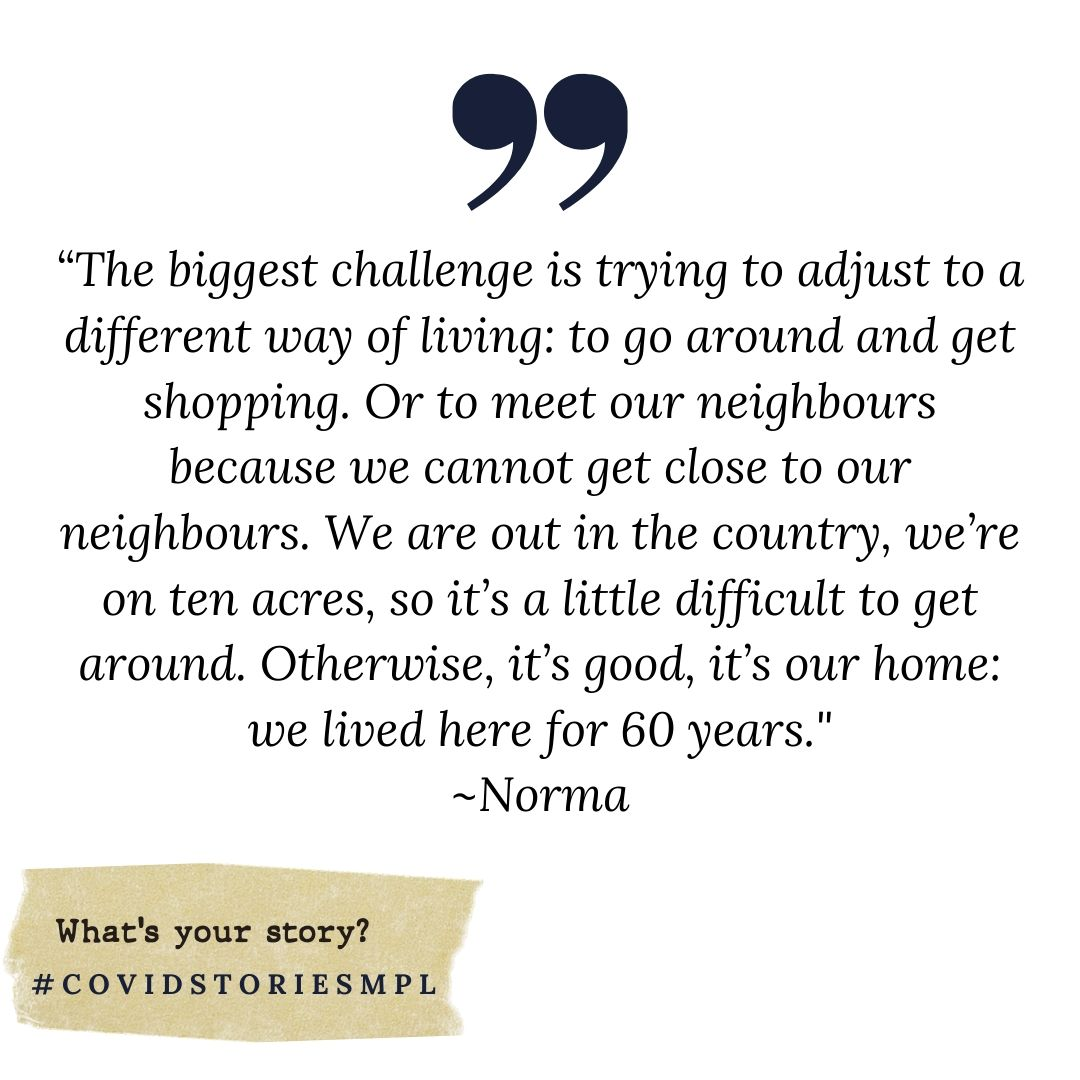 Covid Stories - Norma