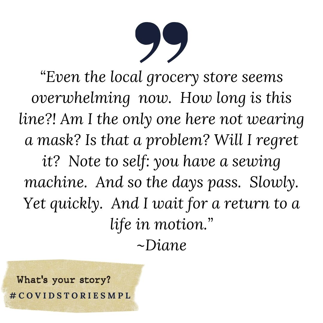Covid Stories - Diane