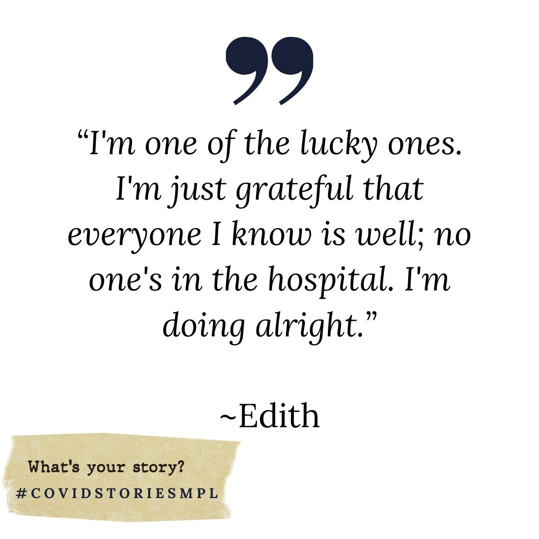 Covid Stories - Edith