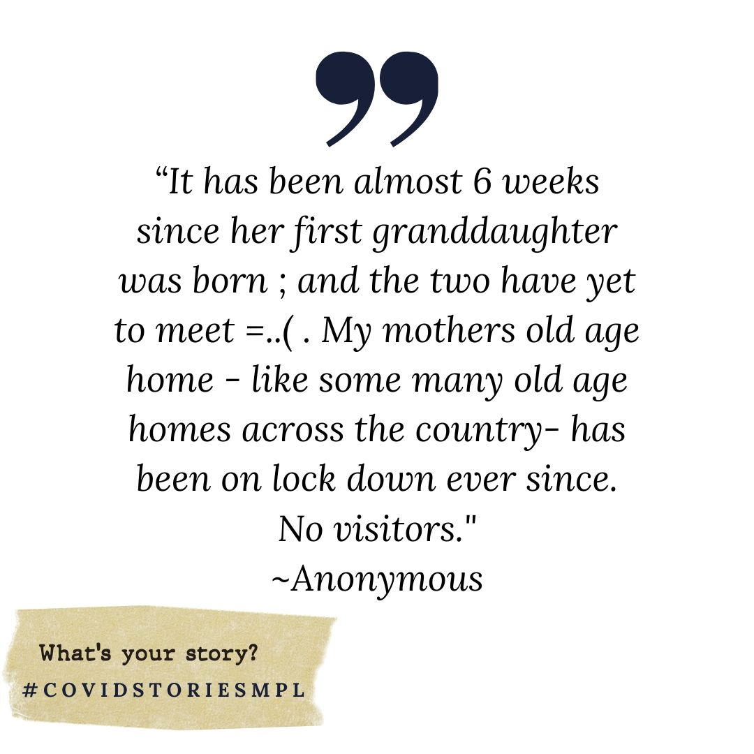 Covid Stories - Anonymous