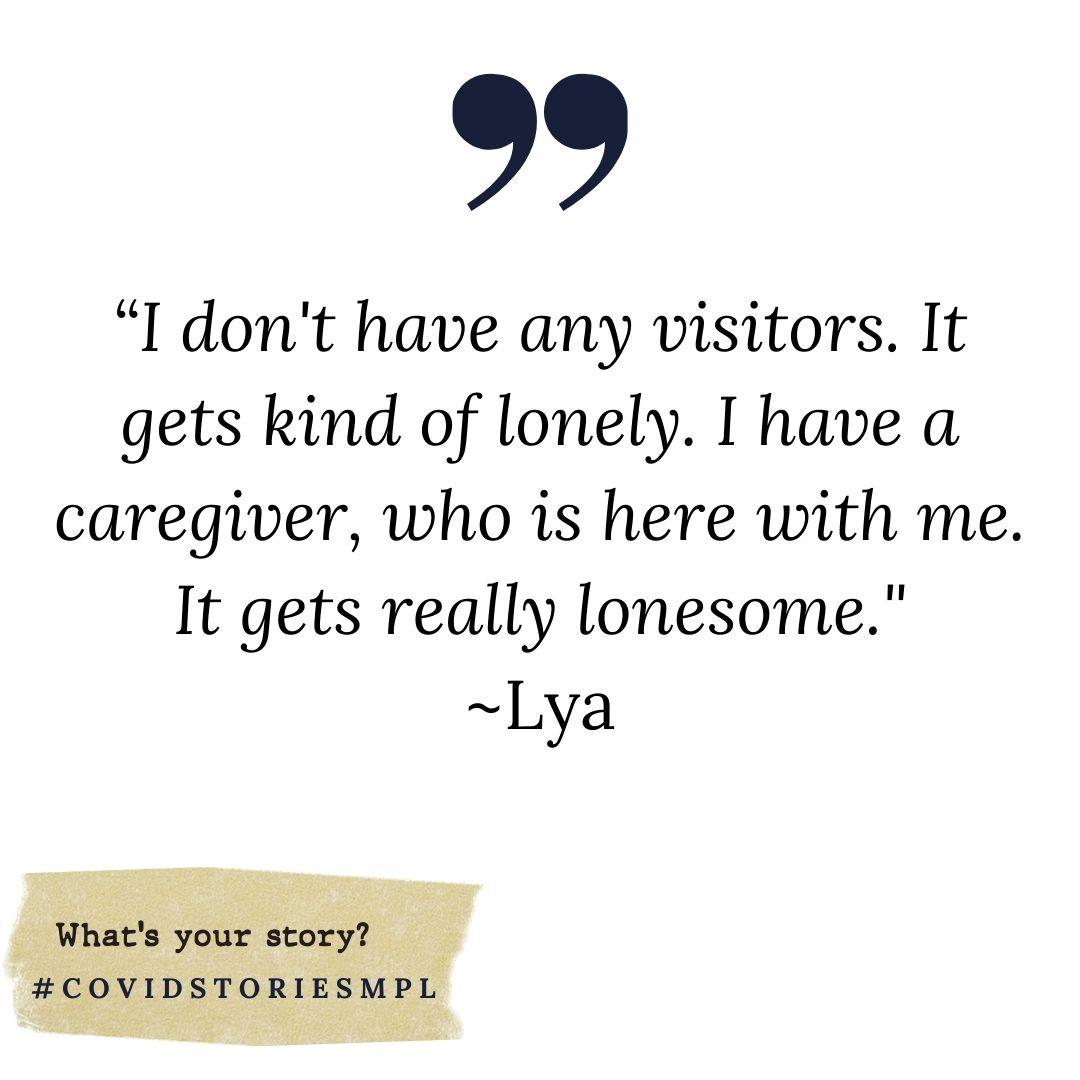 Covid Stories - Lya