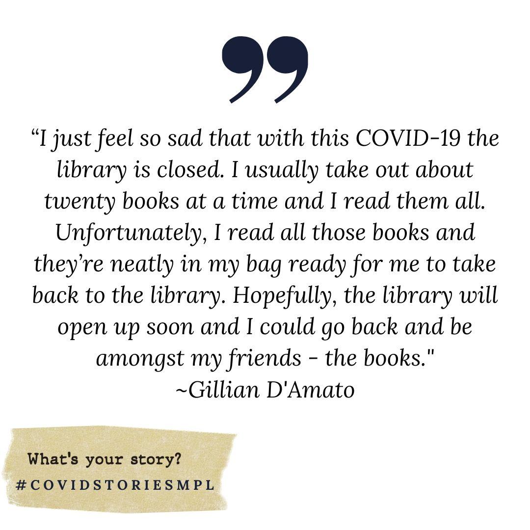 Covid Stories - Gillian