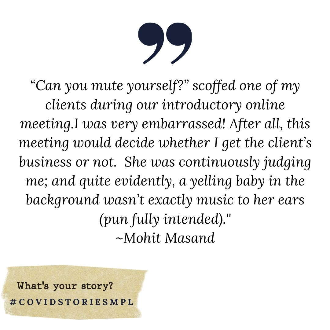 Covid Stories - Mohit