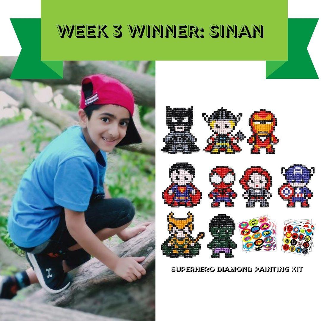 Week 3 - SRC winner
