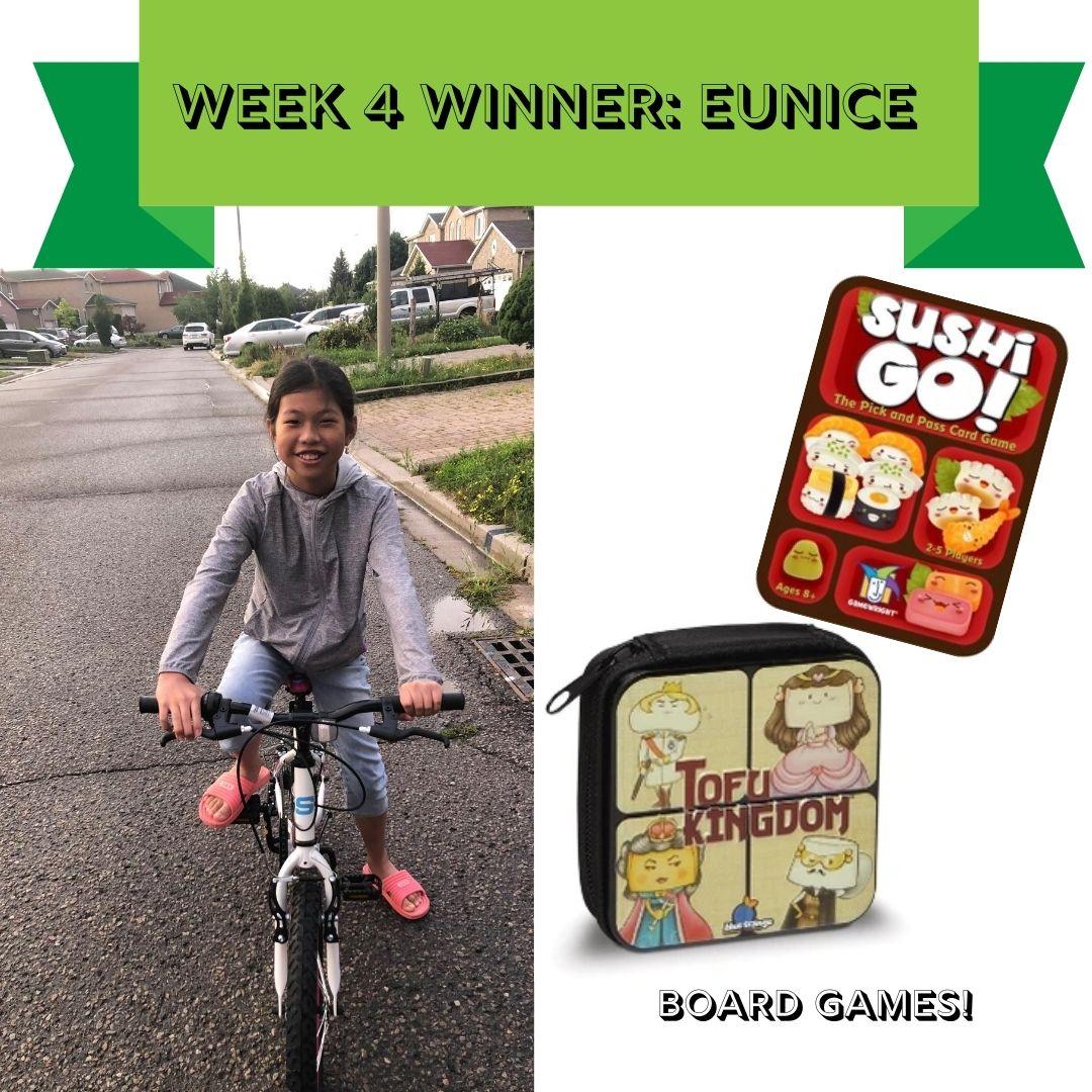 Week 4 - SRC winner