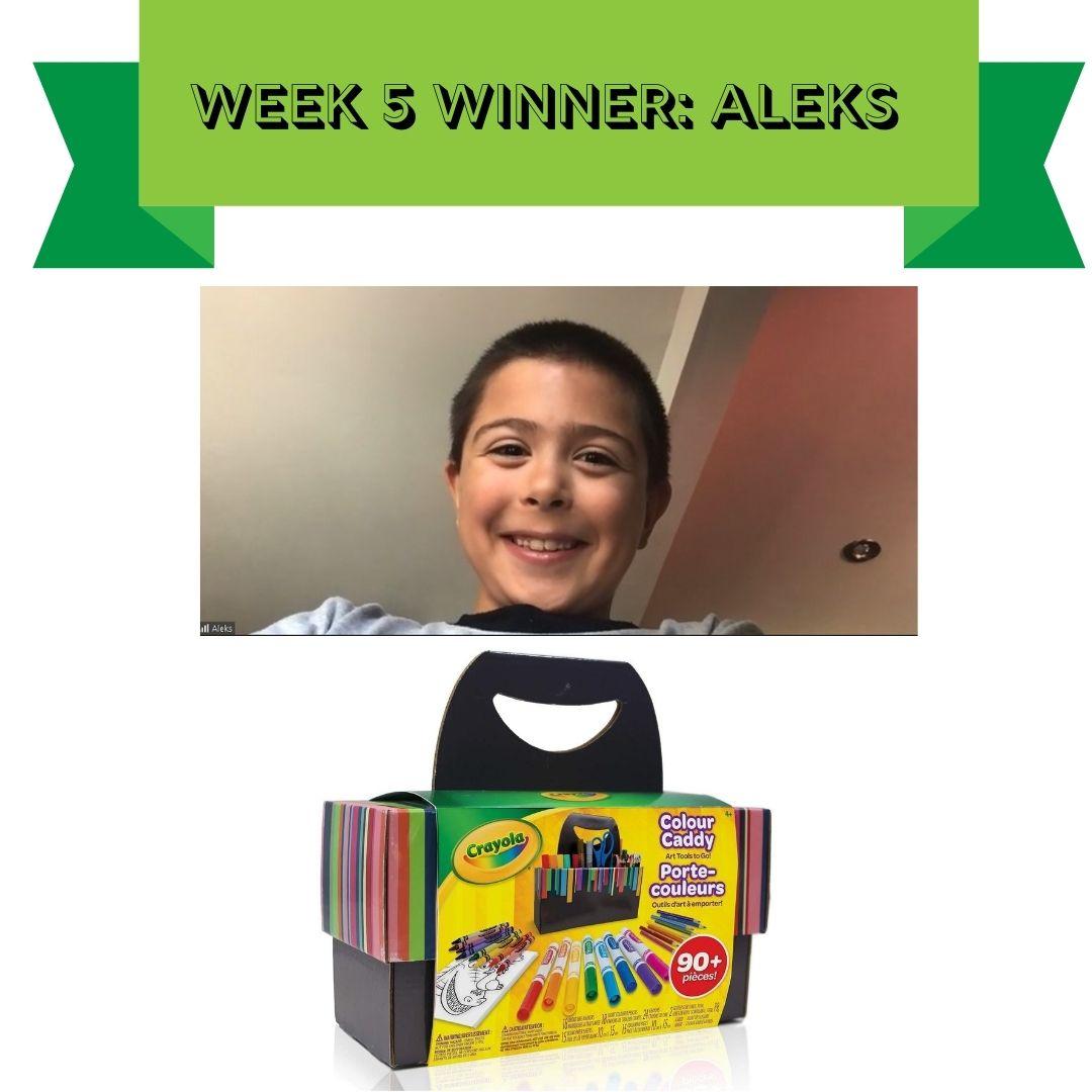 Week 5 - SRC winner