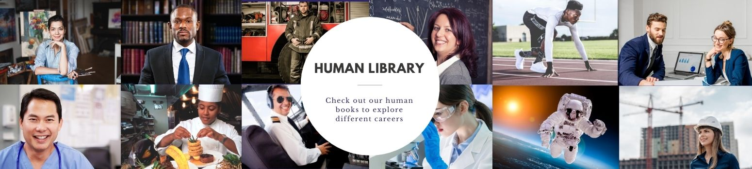 Human Library Banner